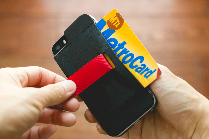 Wally Stick-On Wallet for iPhone 5/5S