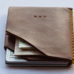 Wingback Leather Wallet