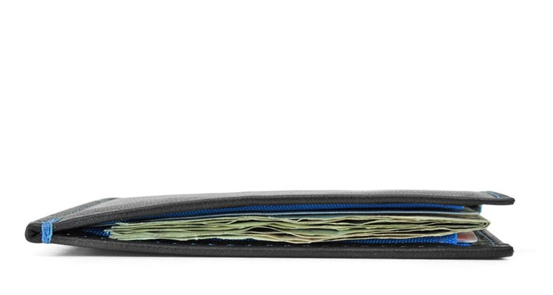 X Slimmy Thinnest Leather Wallet on Earth