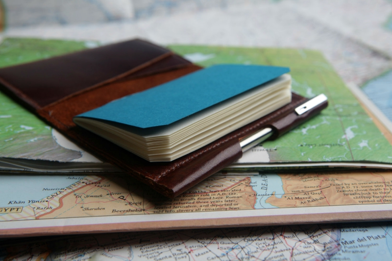 BankNote Minimalist Wallet with Notebook