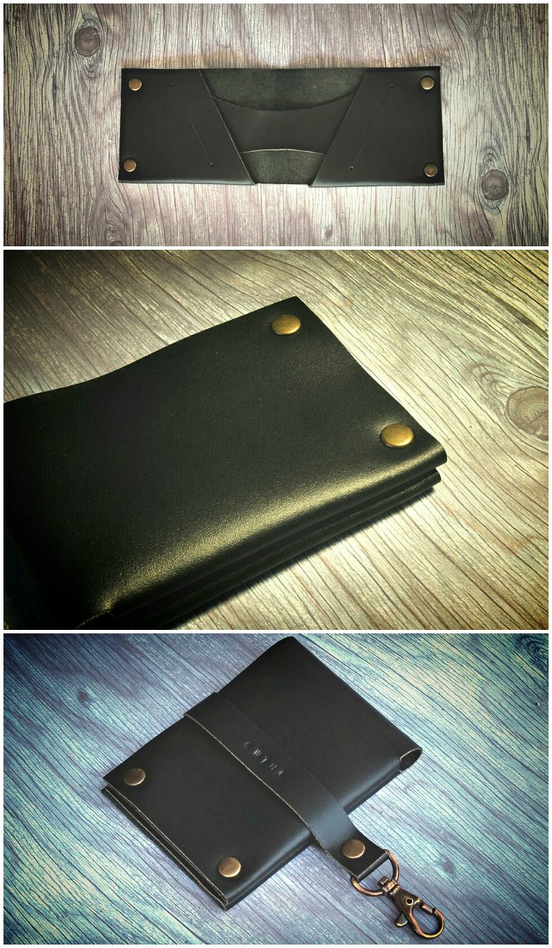 Wallther Minimal Leather Wallet