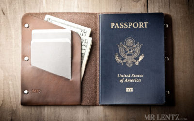 Mr. Lentz Passport Wallet